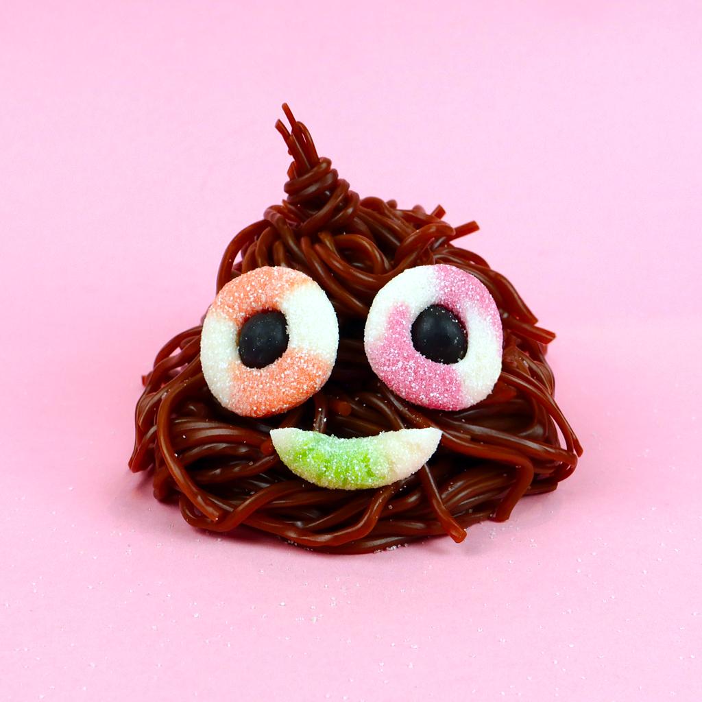 Emoji crotte pour Lutti