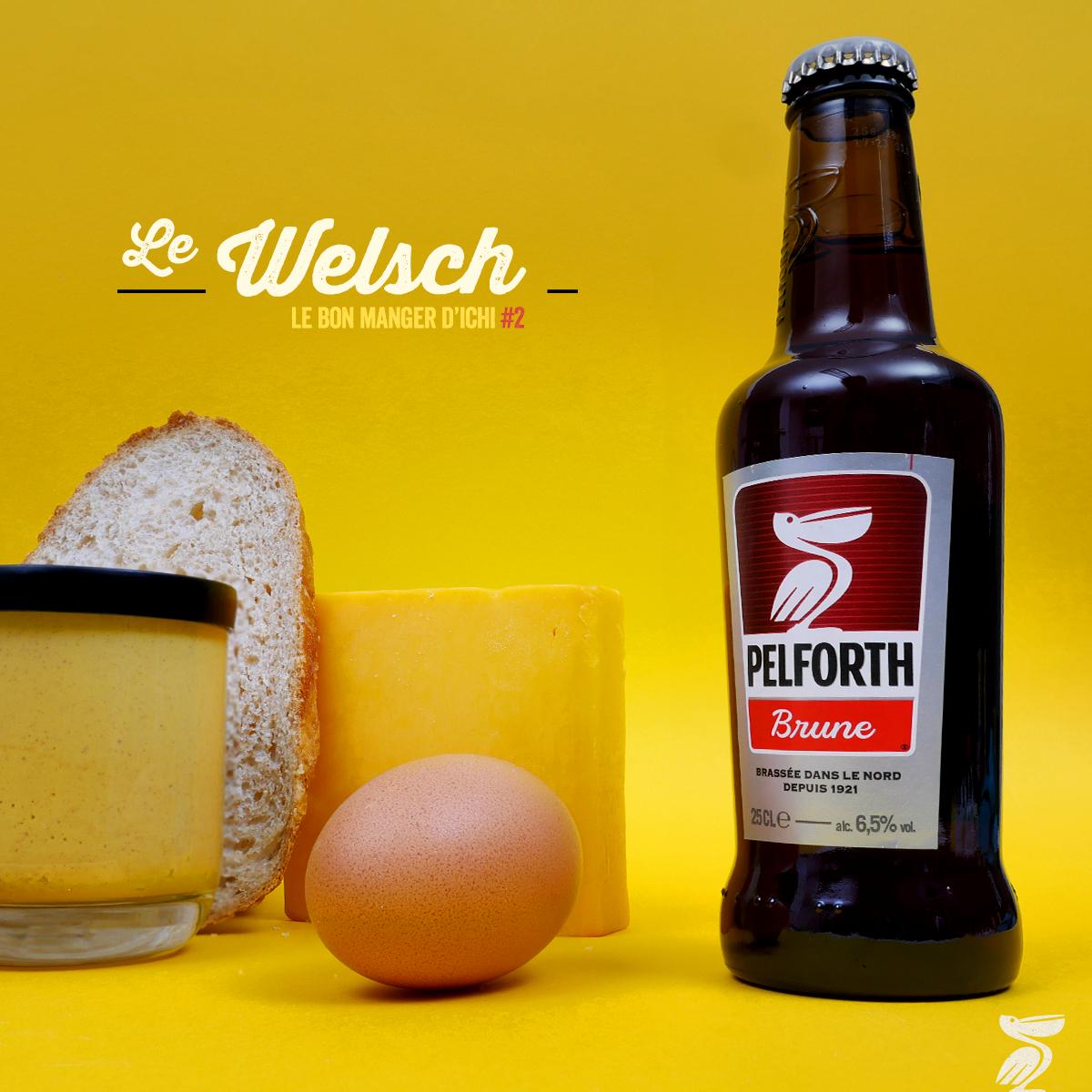 Pelforth, le recette du welsh